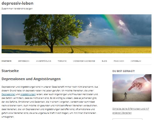 depressiv-leben.de: Zusammen Verständnis zeigen