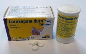 Bild: Lorazepam dura® 1mg Tabletten © Alexander Peinze