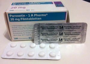 Bild: Paroxetin 1 A Pharma, 20mg Filmtabletten © Alexander Peinze