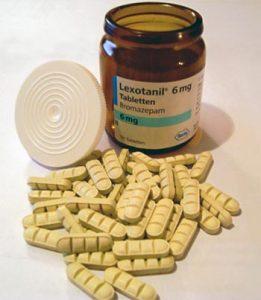 50 Tabletten Lexotanil 6 mg von Hoffmann-La Roche